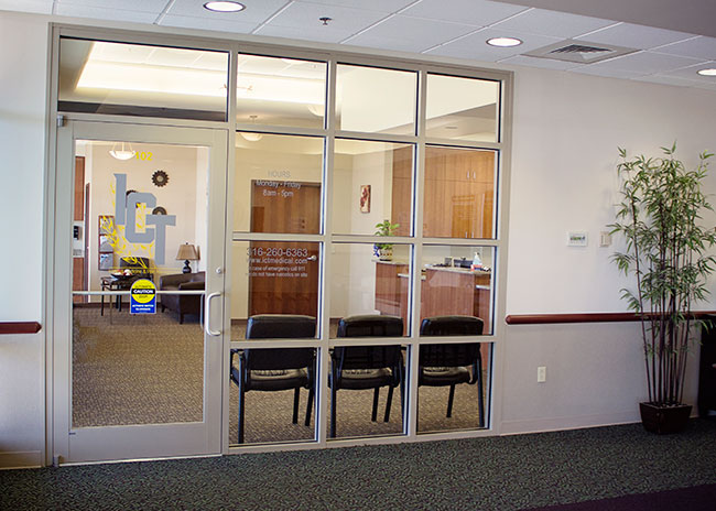 ICT Internal Medicine & Pain Management entrance